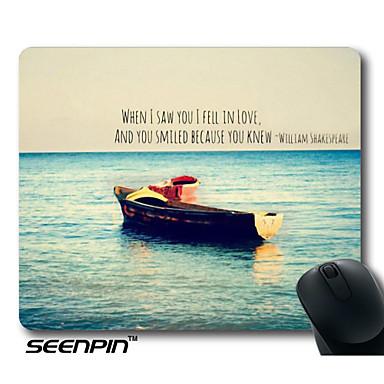 1099 Seenpin Gepersonaliseerde Tumblr Citaat Van Shakespeare Oceaan Boot Liefde Leuke Girly Muis Pads