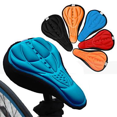 cheap Bike Parts & Components-Bike Seat Saddle Cover / Cushion Breathable Comfort 3D Pad Silicone Silica Gel Cycling Road Bike Mountain Bike MTB Black Orange Red