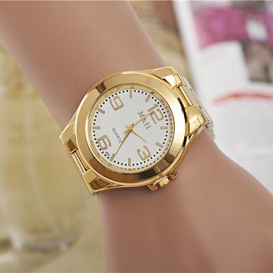Mujer Reloj de Vestir Reloj de Moda Reloj de Pulsera Cuarzo   Aleación  Banda Casual Dorado 3039931 2019 –  7.99 4f8b81759bfe