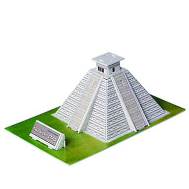 diy maya pyramidformad 3d pussel
