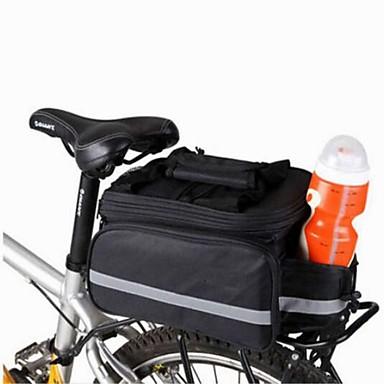 8 L Väska till pakethållaren / Cykelväska Axelväska Väskor till pakethållaren Kompakt Multifunktionell Cykelväska Duk Cykelväska Pyöräilylaukku Camping Cykling / Cykel