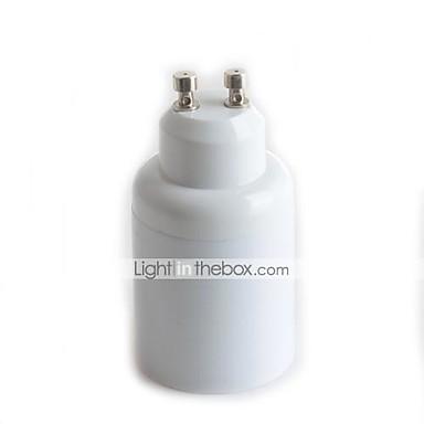 1pc gu10 till e27 lampa lampa skruvuttag adapter omvandlare