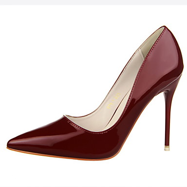official photos f7039 496f1 [$32.99] 2015 Red Sole Woman 10cm High Heels Work Pumps OL Sexy Thin Woman  Shoes Red Bottom High Heels Wedding Shoes