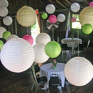 povoljno Artikli za zabave-Jedinstven svadbeni dekor Pearl papira Vjenčanje Dekoracije Božić / Halloween / Rođendan Vrt Tema / Azijski Tema / Butterfly Theme Proljeće / Ljeto / Jesen
