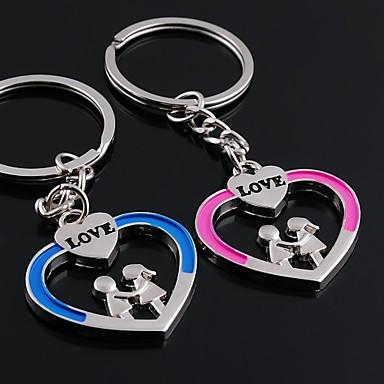 legering bröllop / fritid härlig hjärta par nyckelringar 1 par