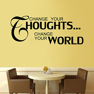 Words & Quotes Wall Stickers Words & Quotes Wall Stickers Decorative ...
