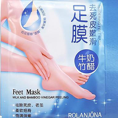 exfolierande fot mask högeffektiva död hud nagelband remover scholl sosu fot spaprodukter 1par