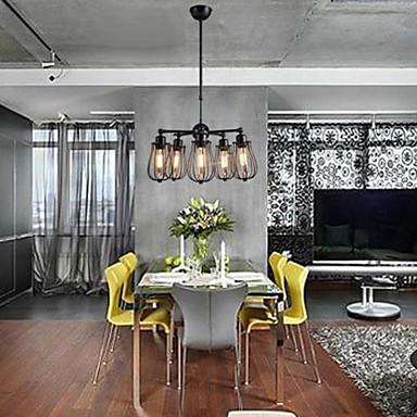 maishang® lysekroner mini stil rustikk / lodge / retro stue ...