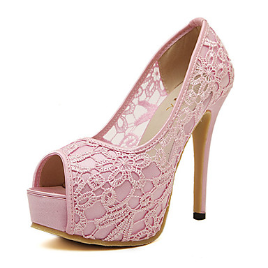 7552495ea1c Γυναικεία παπούτσια - Πέδιλα - Φόρεμα / Πάρτι & Βραδινή Έξοδος - Τακούνι  Στιλέτο - Peep