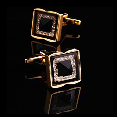 levne Pánské šperky-Pánské Kol Düğmeleri Štras Brož Šperky Stříbrná Zlatá Pro