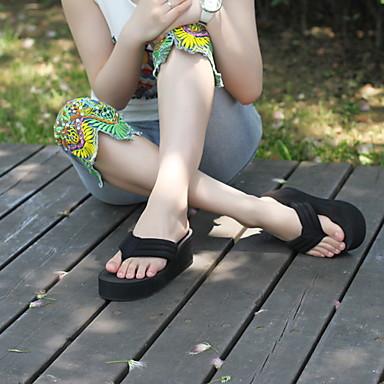 Hayoha 2015 Verano Flip Flop Plataforma Sandalias De Las Mujeres Zapatillas Zapatos De La Playa De Las Sandalias Casuales 3318619 2021 7 69
