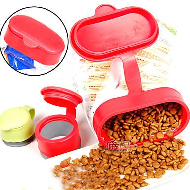 Skålar & Vattenflaskor Hundkläder Röd Kostym Plast L