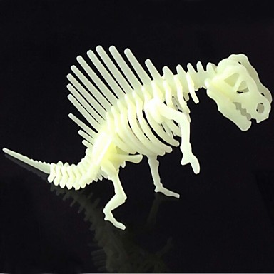 levne 3D puzzle-3D puzzle Puzzle Dinosaurus Plastický ABS Chlapecké Dívčí Hračky Dárek