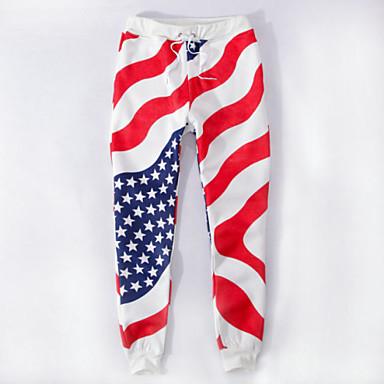 e29d8dc2de0cb 2015 nuevas ventas de moda los pantalones americanos bandera basculador  hombres trotar pantalones blancos pantalones de chándal hombres 3396879  2019 – ...