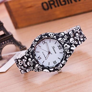 levne Dámské-Dámské Náramkové hodinky Křemenný Černá Žhavá sleva Analogové dámy Květina Módní - Černá Zlatá Jeden rok Životnost baterie / Tianqiu 377