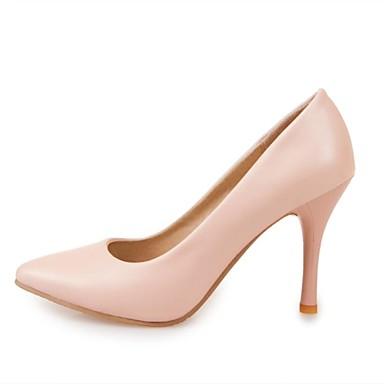 27faf4b5005a54 Chaussures Femme - Habillé - Bleu / Rose / Violet / Beige - Talon Aiguille  - Bout Pointu - Talons - Similicuir de 3232259 2019 à $39.99