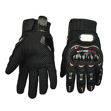 billige Motorsykkel & ATV tilbehør-Motorsykkel hansker Full Finger Polyutrethane/Bomull/Nylon/ABS M/L/XL Rød/Svart/Blå