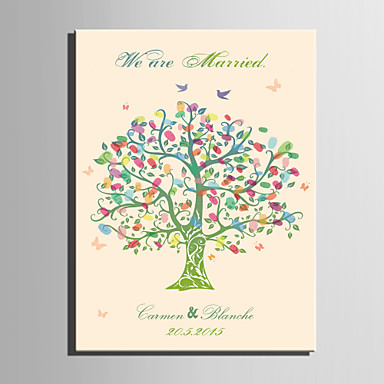 E home personalized fingerprint painting canvas prints the color of the tree includes 12 ink colors 3228092 2018 21 99
