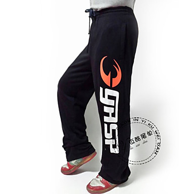 [$43.99] pantaloni bodybuilding palestra abiti maschili gasp slacks100% cotone mutanda più il formato di alta qualità