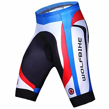 09d6832be WOLFBIKE® Cycling Padded Shorts Men s Breathable   Quick Dry   Compression    3D Pad BikeShorts