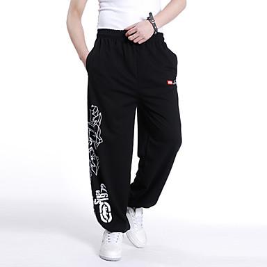 2014 pánské hip-hop hiphop kalhoty extra velké volné ležérní kalhoty plus  velikosti tiskových sportovní kalhoty barva 4 velikost XL c2ad4b1091