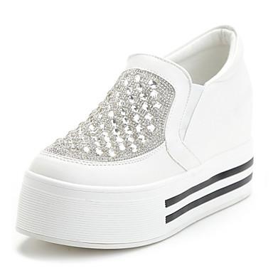 Décontracté Chaussures Plateforme Sport Blanc Femme Noir 7ngxFqwn6