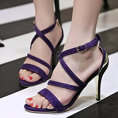 Chaussures de soirée violettes femme WFGq5