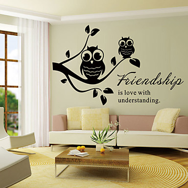 919 Zidne Naljepnice Zidne Naljepnice Stil Prijateljstvo Engleski Riječi Citati Pvc Zidne Naljepnice