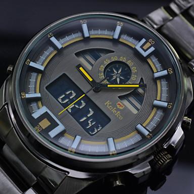 fe524e04eb4 pánské náramkové hodinky vedl digitální černé plné oceli potápěčské sportovní  hodinky quartz hodiny muže (různé barvy) 3382668 2019 –  18.99