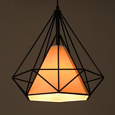 Retro Diamond Shaped Chandelier Restaurant Lighting Hanging Lamp Living Room Lights Coffee Shop Lamps 3413988 2017 13666