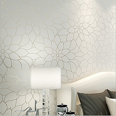 new rainbow contemporary wallpaper floral simple and. Black Bedroom Furniture Sets. Home Design Ideas