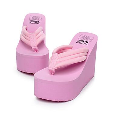 Γυναικεία παπούτσια - Παντόφλες - Ύπαιθρος   Γραφείο   Δουλειά   Καθημερινά  - Ενιαίο Τακούνι - Σαγιονάρες - Συνθετικό -Μαύρο   Μπλε   Ροζ 3648232 2019  – ... c59e1d2cdfa