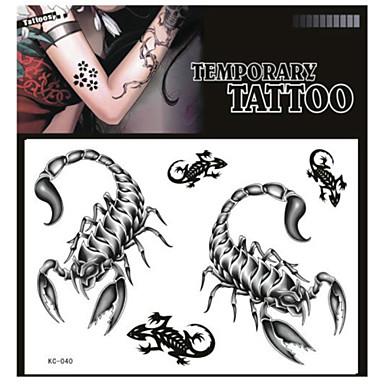 Tattoo Stickers Non Toxic/Pattern/Lower Back/Waterproof Animal Series Adult Black Paper 1 17*16 Scorpion 3927756 2019 – $0.99