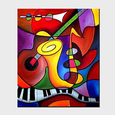 povoljno Ukrašavanje zidova-Print Stretched Canvas Prints - Sažetak Sažetak Umjetničke grafike