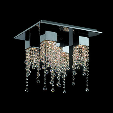 Chandeliers/Track Lights Crystal Modern/Contemporary Living Room ...