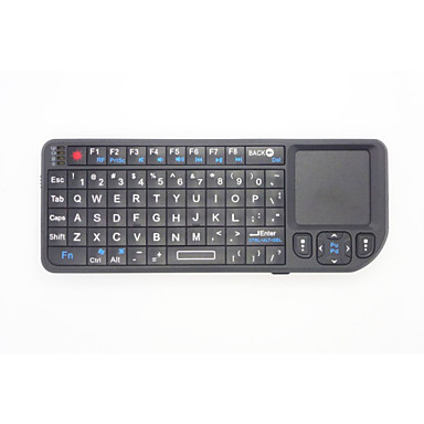 2 i 1 mini handflata 2.4G trådlöst tangentbord och mus combo med pekplatta för Google Android-tv box Smart PC