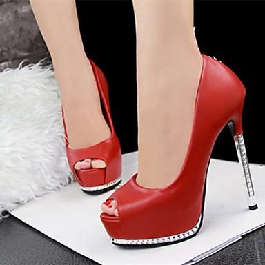 Magassarkú - Stiletto - Női cipő - Magassarkú - Alkalmi - Bőrutánzat -  Színes 3785265 2019 –  24.99 0a95778296