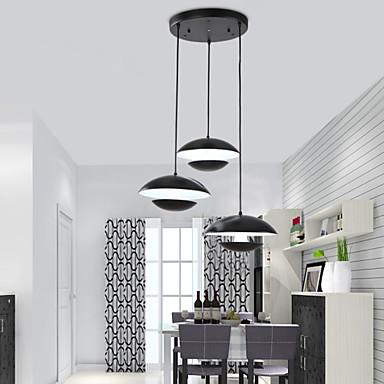 Best Selling Product 3 Lights White Black Lamp Shades Latest