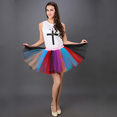 e24e9b4331 Puff Skirt Dance Tutu Dress Dance Tutu Dress Rainbow Colorful Tutu Skirt  Fluffy Tutu Skirt Princess Tutu Skirt 3575182 2019 – $29.07