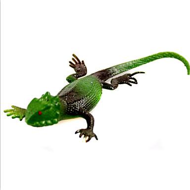 (5 st) simulering ödla simulering mjuka gummi djur dessa trick leksaker (slumpvis färg)