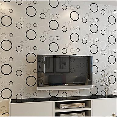 papel tapiz contemporáneo 0.53m geométrica pared * 10m cubriendo el ...