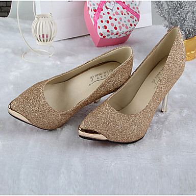 Women's Shoes Leather Kitten Heel Heels/Pointed Toe/Closed Toe Pumps/Heels  Dress/Casual Black/Green/Red/Beige 3869669 2018 – $24.99