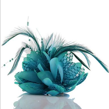 povoljno Party pokrivala za glavu-Kristal / Tekstil tijare s 1 Vjenčanje / Zabava / večer Glava