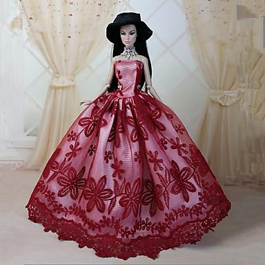 7121e60095cc Πάρτι   Απόγευμα Φορέματα Για Barbiedoll Δαντέλα   Organza Φόρεμα Για Κορίτσια  κούκλα παιχνιδιών 3772703 2019 –  8.15