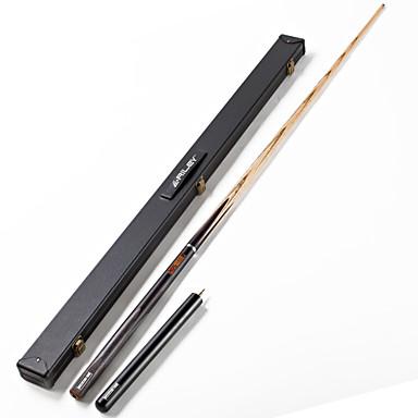 billige Billiard og pool-RILEY 3/4 2-delt Pool Cues Cue Sticks Billiard Træ Snooker Engelsk Billiard Blå