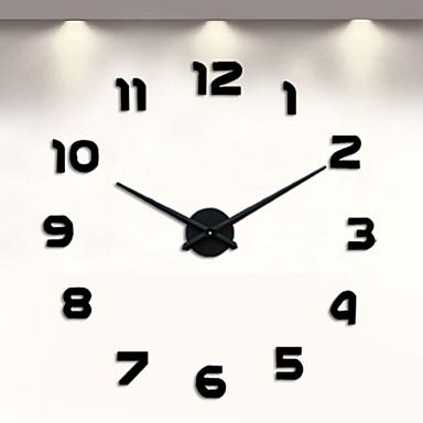 Modern Contemporary Metal Indoor Aa Wall Clock Quartz Movement 3956273 2018 14 13