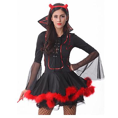 Halloween/Karnival/Oktoberfest - Djurkostymer/Film- och TV-kostymer/Vampyr/Superhjältar/Ängel & Djävul - Dräkter/Kostymer - med