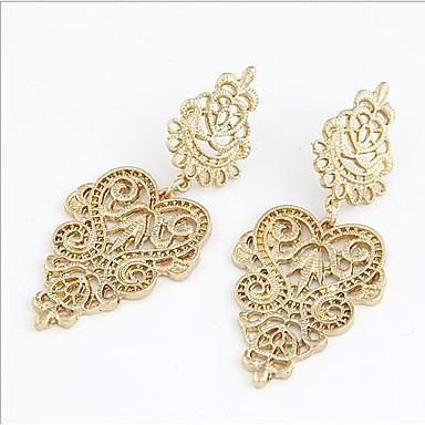 Dam Dropp Örhängen Europeisk örhängen Smycken Guld / Silver Till