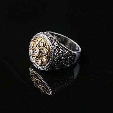 levne Pánské šperky-Party/Na běžné nošení Prsten ( Slitina/Drahý kámen )