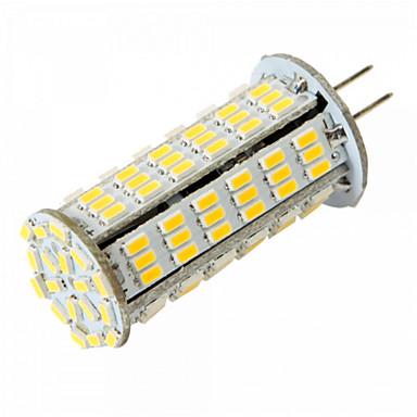 YWXLIGHT® 1st 5 W LED-lampa 450-500 lm G4 T 126 LED-pärlor SMD 3014 Varmvit Kallvit 12 V 24 V / 1 st / RoHs